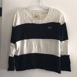 Hollister stripe sweater. Size M